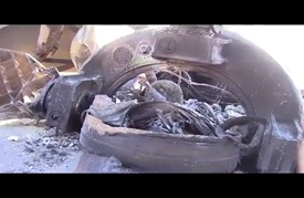 صاروخ لم ينفجر بريف إدلب يثير الرعب بين المواطنين