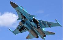 تحطم مقاتلة روسية في المتوسط بعد عودتها من القصف بسوريا