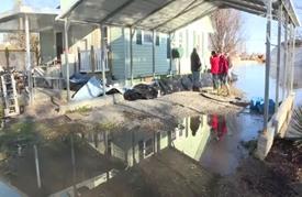 تعزيز إمكانات الإغاثة لمواجهة الفيضانات في أمريكا