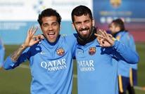 برشلونة يكشف رسميا عن رقمي قميصي توران وفيدال (فيديو)