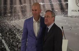 زيدان المدرب الحادي عشر لريال مدريد