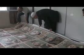 سوري ينجز لوحة موزاييك بــ1.5 مليون حجر فسيفساء