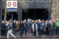 إضرابات عمالية تسبب فوضى في لندن