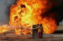 """اندلاع حريق في أكبر مصفاة بترول في """"أبو ظبي"""""""