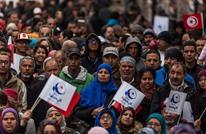 """آلاف التونسيين يحيون الذكرى السادسة لـ""""ثورة الياسمين"""" (صور)"""
