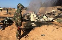سقوط طائرة حربية لحفتر في ليبيا