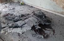 النظام يرتكب مجزرة بوادي بردى بقصف نازحين داخل قاعة (شاهد)