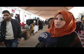 """معرض """"الأيادي الناعمة"""" للتراث الفلسطيني لتشجيع الأعمال اليدوية"""