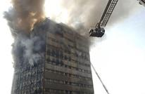 """انهيار برج """"بلاسكو"""" التجاري الشهير وسط طهران (شاهد)"""