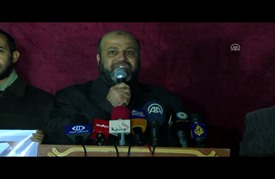 """مسيرة في غزة رفضا لعمليات الهدم الإسرائيلية بـ""""أم الحيران"""""""