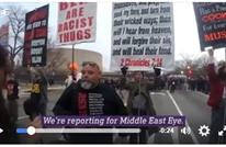 مراسلة مسلمة تتعرض للعنصرية بواشنطن: أمعك قنابل؟ (فيديو)