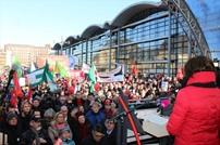 احتجاجات في المانيا ضد عقد مؤتمر تحالف يميني متطرف