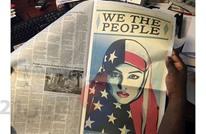 """فيري.. فنان الشارع يحول """"أمل"""" أوباما لملصقات ضد ترامب"""