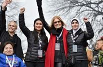 حملة ضد ناشطة فلسطينية شاركت بتنظيم احتجاجات ضد ترامب