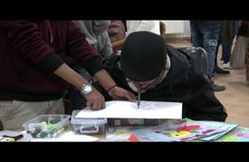 """معرض """"الفنون والإعاقة"""" في الضفة الغربية.. هموم وآمال"""