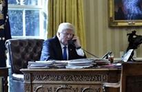 ترامب يتحدث هاتفيا مع محمد بن زايد.. بحثا عددا من القضايا