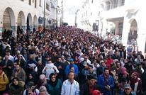 احتجاج آلاف الأساتذة المتدربين بالرباط رفضا لترسيب زملائهم