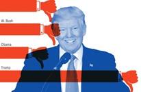 استطلاع يكشف خسارة ترامب لشعبيته قياسا بأسلافه