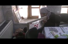 أنامل لاجئات سوريات تحيي فنونا يدوية مهددة بالاندثار في تركيا