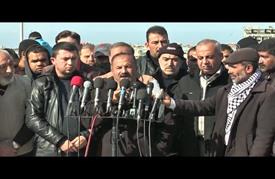 وقفة في غزة تنديدا بإغراق البحرية الإسرائيلية للصياد الفلسطيني