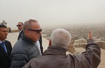 وزير إسرائيلي يتجول بمصر عقب مشاركته بمؤتمر الطاقة (صور)