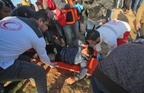 إصابات برصاص الاحتلال بغزة واستهداف سيارة إسعاف (شاهد)