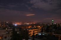 ماذا استهدف الاحتلال بغارته على حلب السورية؟ (صور)