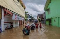 26 قتيلا ضحايا الفيضانات في إندونيسيا