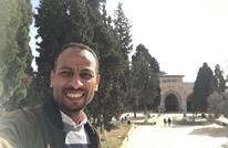إعلامي مصري يزور الأقصى وسط اتهامات بالتطبيع مع الاحتلال