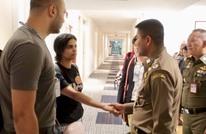 الفتاة السعودية اللاجئة تكشف هوية شخصية ساعدتها (صور)