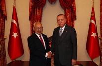 الرئيس التركي يستقبل راشد الغنوشي في إسطنبول