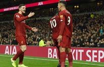 ليفربول يهزم توتنهام ويواصل التحليق في صدارة الدوري (شاهد)