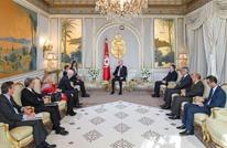 سعيّد يستقبل وزير خارجية إيطاليا ويبحث معه الأزمة الليبية