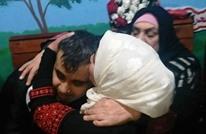 """""""جمانة"""" تحتضن والدها الأسير بعد حرمان مرير لـ17 عاما (شاهد)"""