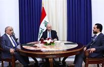 """اجتماع للرئاسات العراقية.. والصدر يدعو """"الثوار"""" للاستمرار"""
