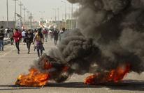 مقتل متظاهر برصاص الأمن خلال مواجهات ببغداد
