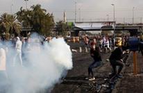 قتيل وعشرات المصابين بمواجهات وسط بغداد