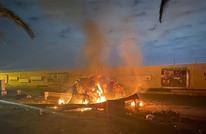 دوي انفجارات قرب مطار بغداد إثر استهداف أحد المعسكرات هناك