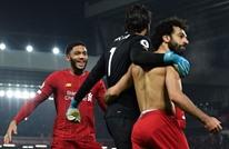 """بعبارة عربية.. هكذا تفاعل ليفربول مع """"الهدف التاريخي"""" لصلاح"""