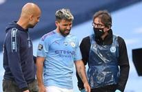 غوارديولا يعلن خضوع لاعب السيتي أغويرو للعزل الصحي