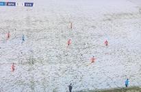 """مباراة بتركيا تخلق الحدث.. لاعبون """"لا يظهرون"""" فوق الملعب"""
