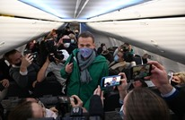 اعتقال المعارض الروسي نافالني فور عودته إلى موسكو