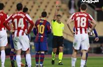 رقم مفاجئ.. كم مرة تعرض ميسي للطرد في مسيرته مع برشلونة؟