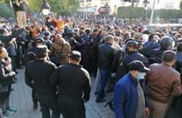 تجدد أحداث العنف بتونس.. والغنوشي يدعو للتهدئة والوحدة (صور)