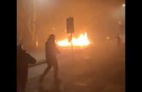 عبث محتفلين بالعام الجديد في هولندا يحدث انفجارا (فيديو)