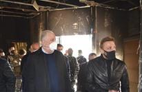 وزير الداخلية اللبناني يزور طرابلس بعد احتجاجات وعنف وحرق