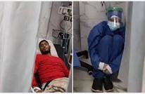 مقطع مصور من غرفة عزل مرضى كورونا بمصر يثير جدلا (شاهد)