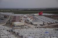 عدد اللاجئين السوريين في تركيا تجاوز المليون