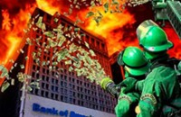 إيطالي يحرق مصرفاً رفض إعطاءه قرضاً