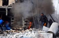 باريس تدين سقوط قذيفة على مدرسة فرنسية بدمشق